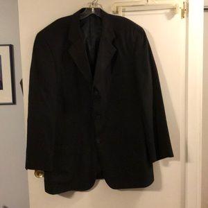 Jeffrey Banks black sport coat